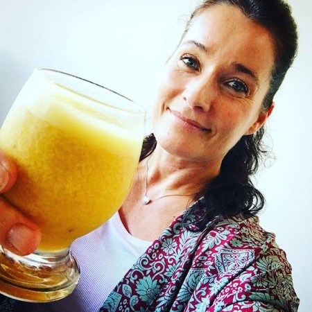Färskmixpressad passionsfruktjuice – det kan vara det i särklass godaste jag druckit! ️ Puss #passionsfrukt #färsk #juice #brasilien #olinda